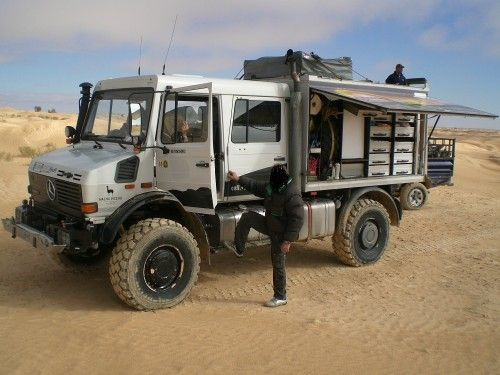 Unimog U1550l37 Doka For Sale Expedition Vehicle Expedition