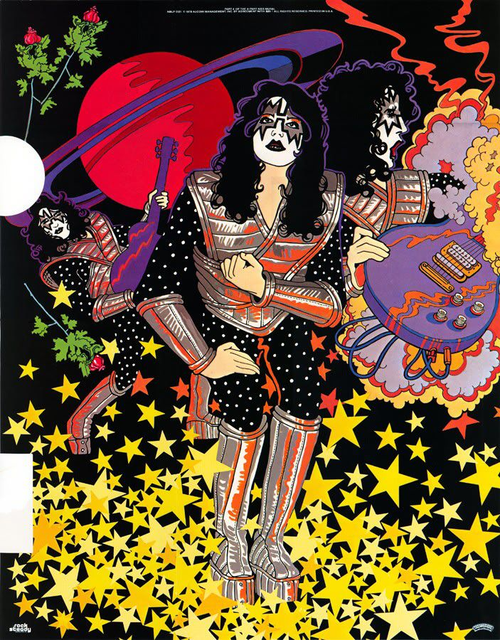 Ace Frehley 1978 solo album poster