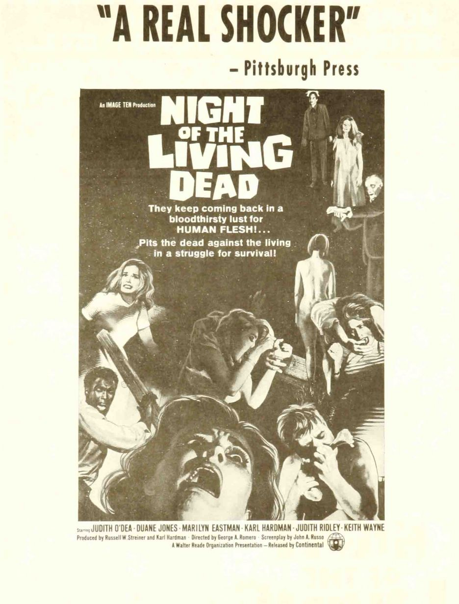 Nightn of the living dead Movie posters, Movie posters