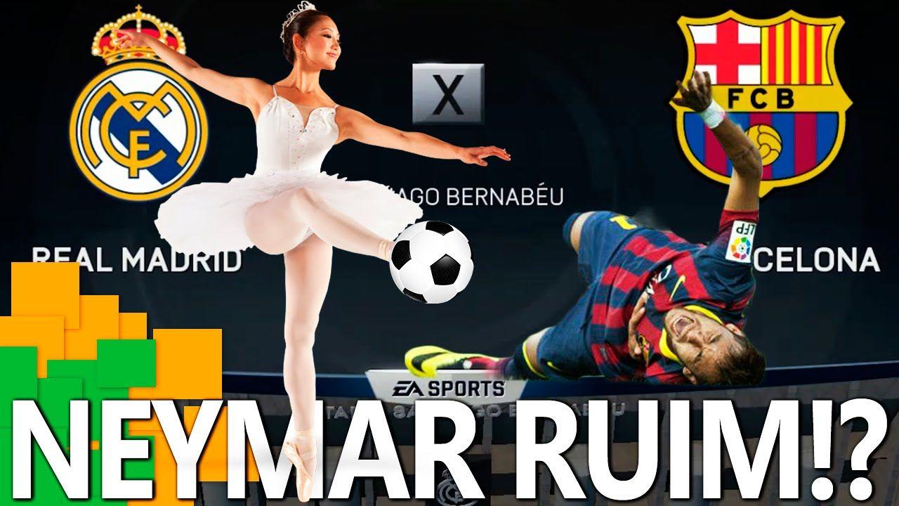 FIFA 15 - O Neymar é muito ruim!!! x1 de irmãos