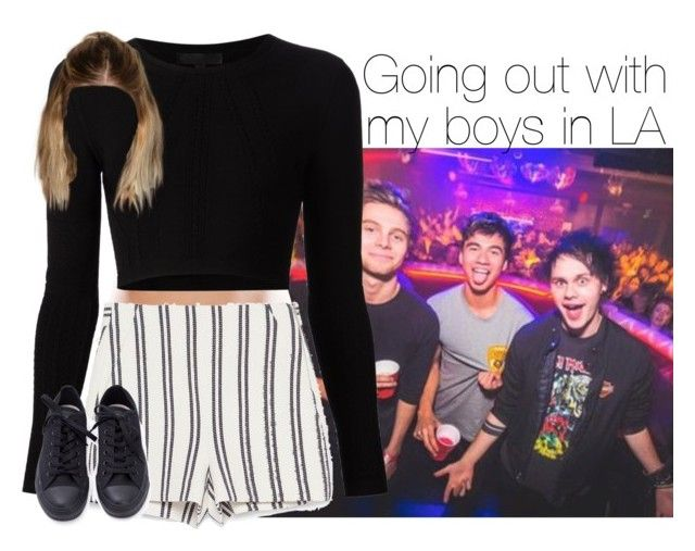 """""""5Sos"""" by outfits41d ❤ liked on Polyvore featuring Zara and Cushnie Et Ochs"""