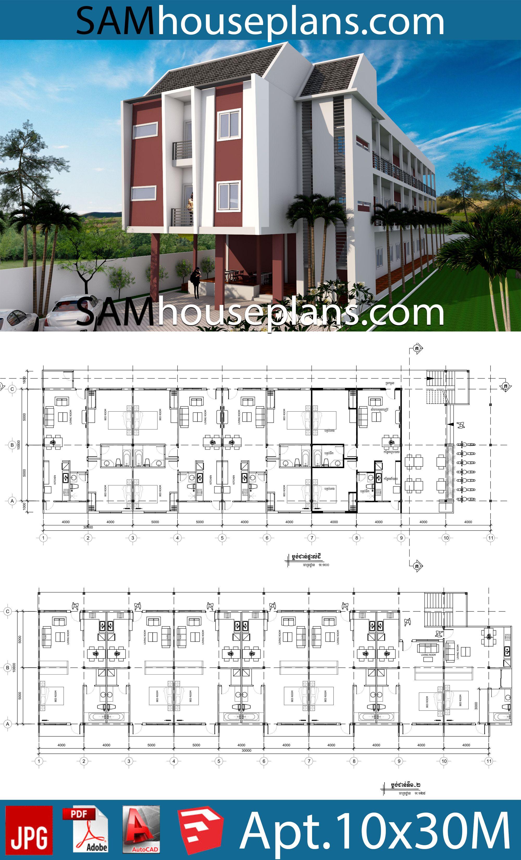 Apartment Plans 10x30 With 18 Units House Plans Free Downloads Apartment Plans Hotel Floor Plan Hotel Room Design Plan