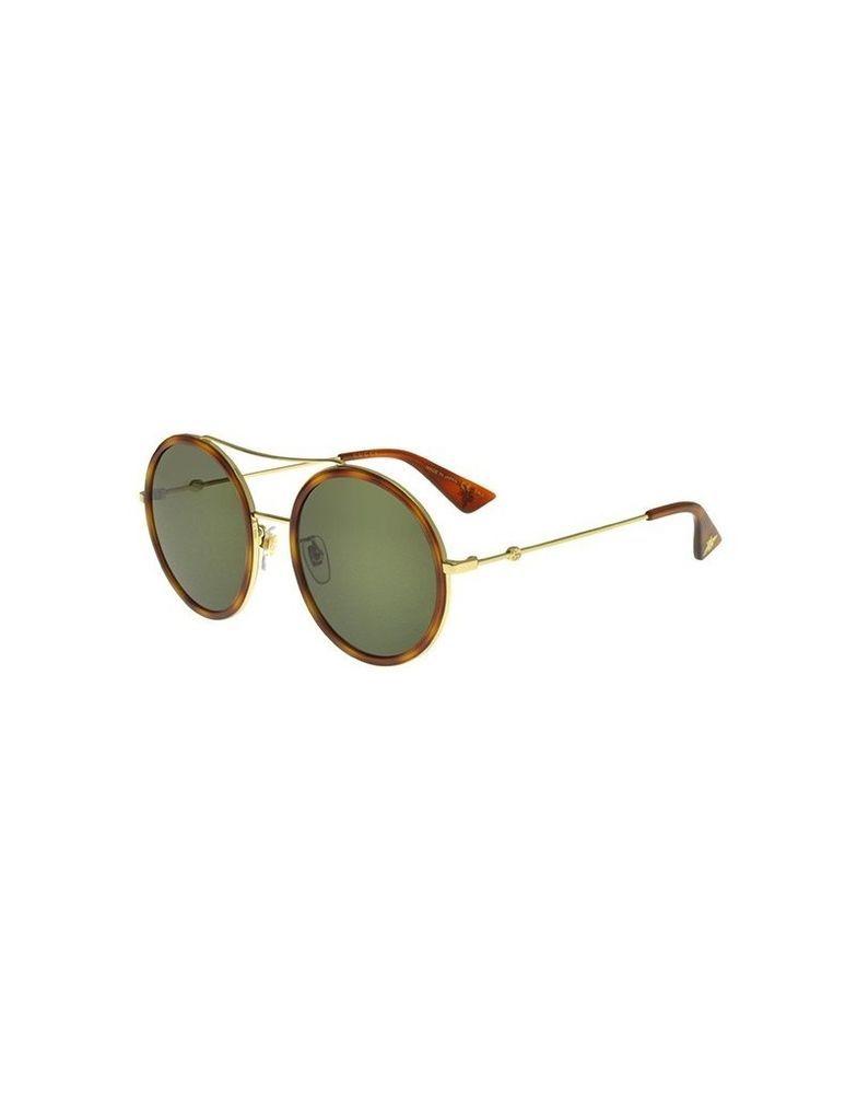 a7d310d257 Sunglasses GUCCI original GG0061 S 002 56-22 Gold Havana - Green (eBay Link)