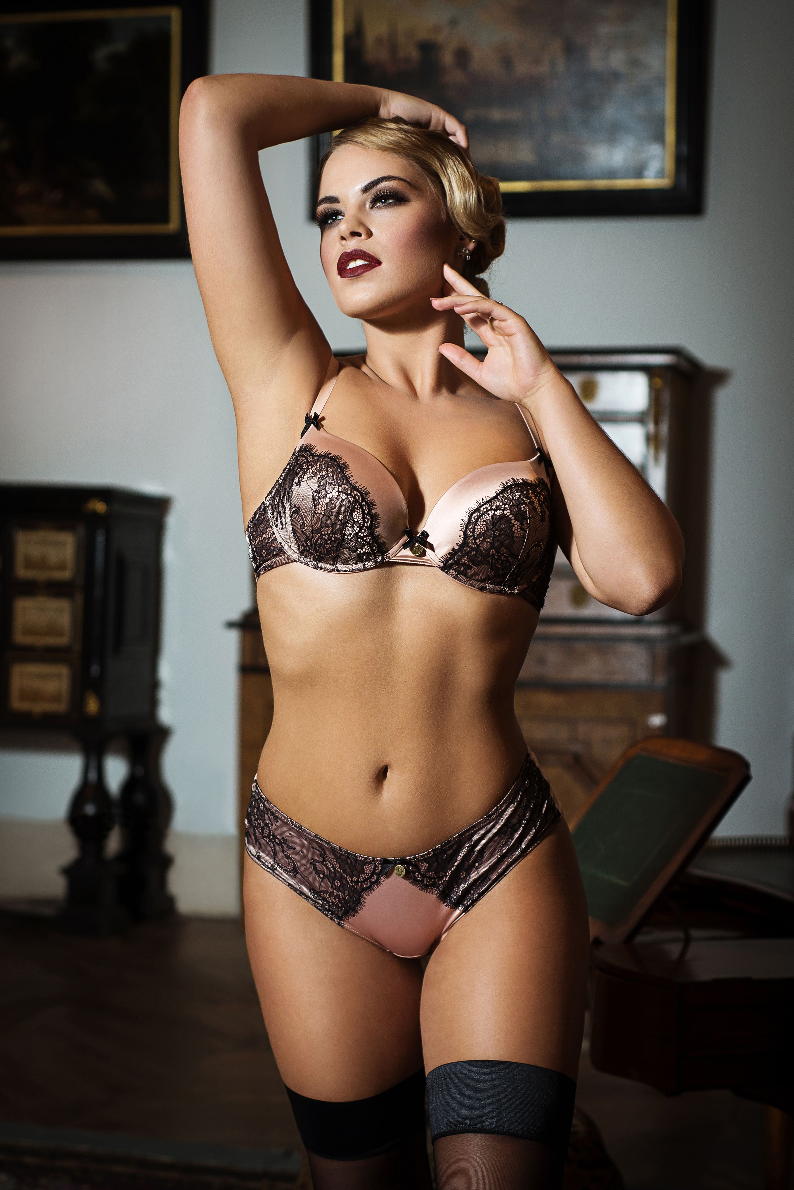 4b421e51697c5b Tallulah Love Chantilly Blush Bra A-E   Brief set bought together only £60!!