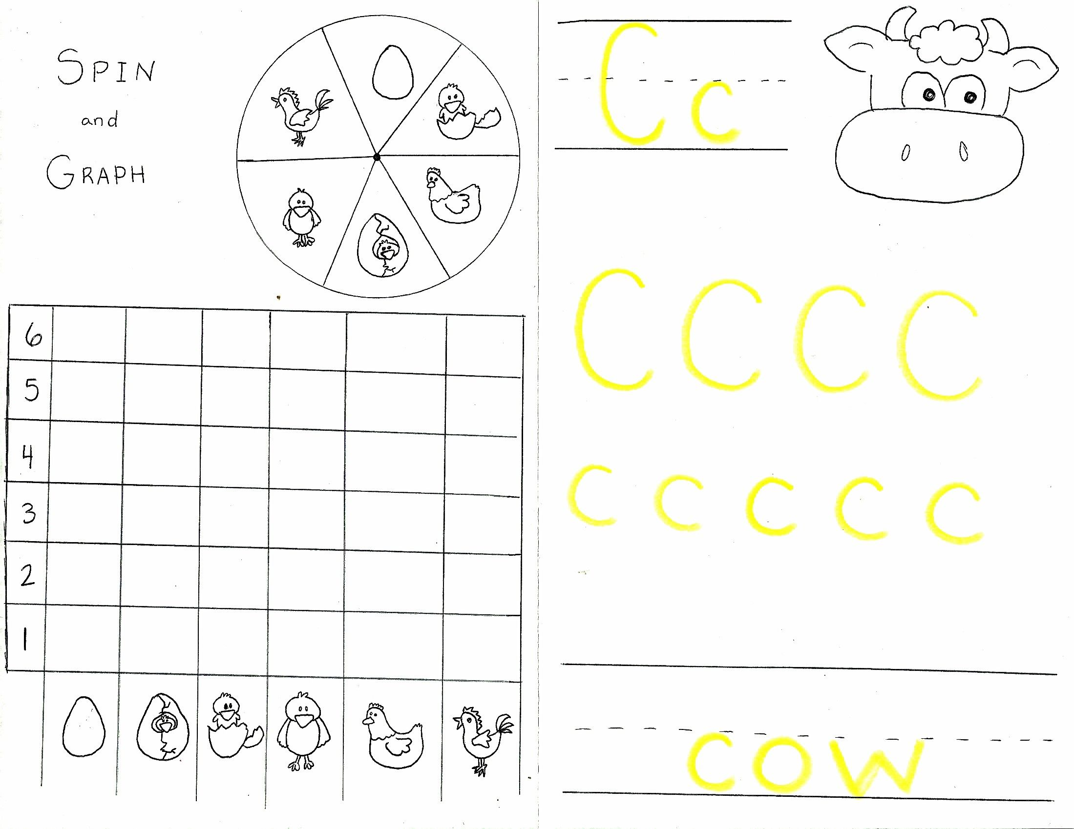 Cow And Chicken Worksheet 2
