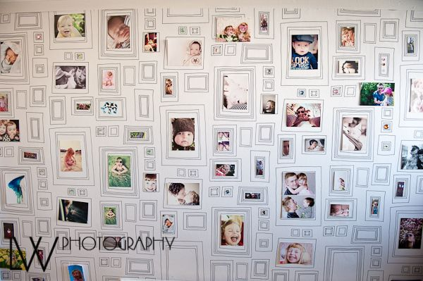 papier peint cadre pour faire des dessins ou y ins rer des photos dessin d 39 enfant pinterest. Black Bedroom Furniture Sets. Home Design Ideas