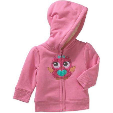 Healthtex Infant Baby Toddler Girls Pink Jacket Sweatshirt Fleece Hoodie