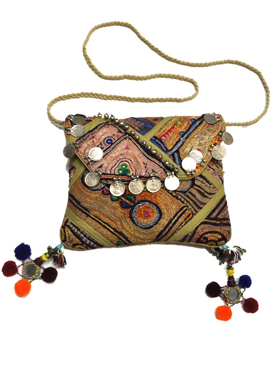 Goa Cross Body Bag in Natural