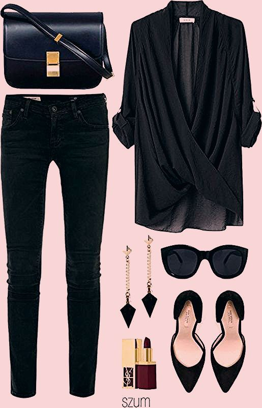 Photo of Zeitlose schwarze und weiße Outfits – Frauenmode