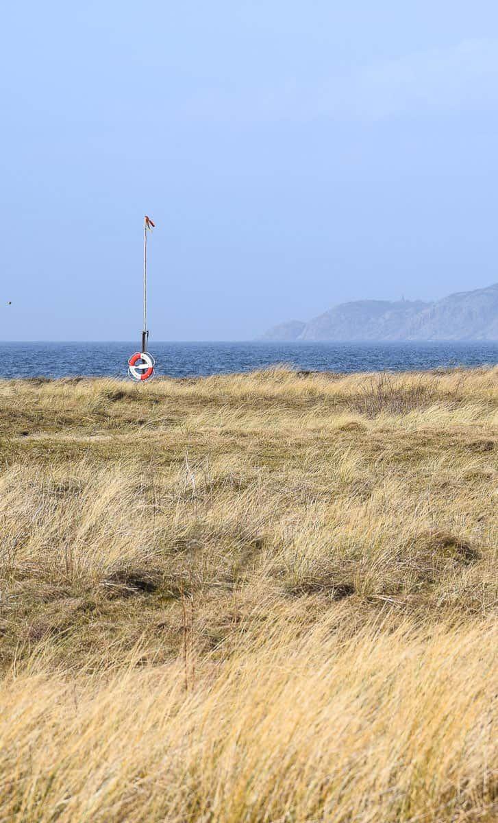 La Suède au bord de l'eau la côte SudOuest à pied