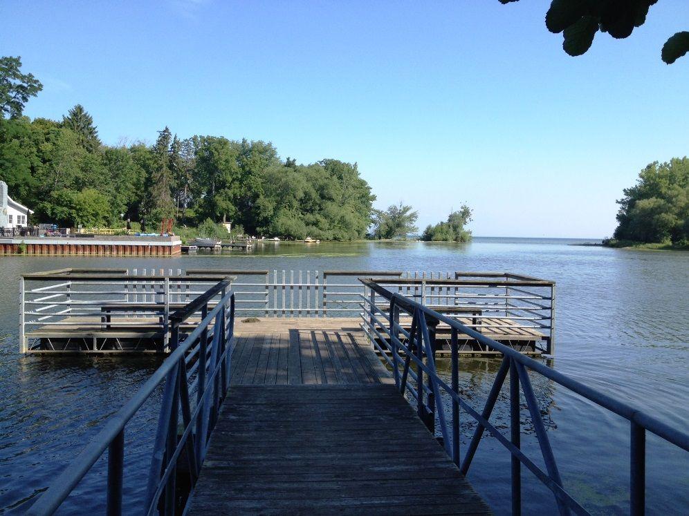 fishing dock west branch of twelve mile creek state parks fishing dock lake ontario pinterest