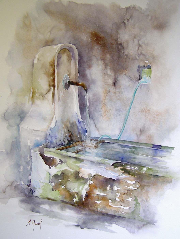 josette marrel aquarelliste tableaux aquerelle st romans is re divers pinterest. Black Bedroom Furniture Sets. Home Design Ideas