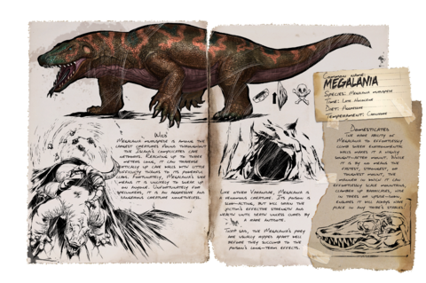 Dino Dossiers - Official ARK: Survival Evolved Wiki | Ark