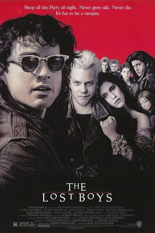 Kiefer Sutherland The Lost Boys Door Poster