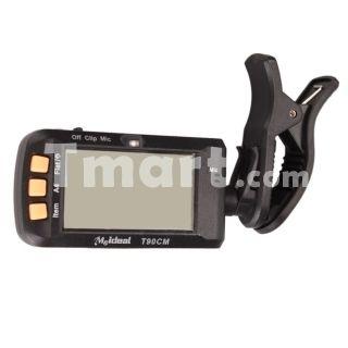 Meideal T90CM LCD Guitar Tuner A4 Bass Digital Clip Mic Violin,$7.30