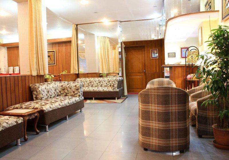 Lobby Crystal Palace Hotel Yangon Myanmar