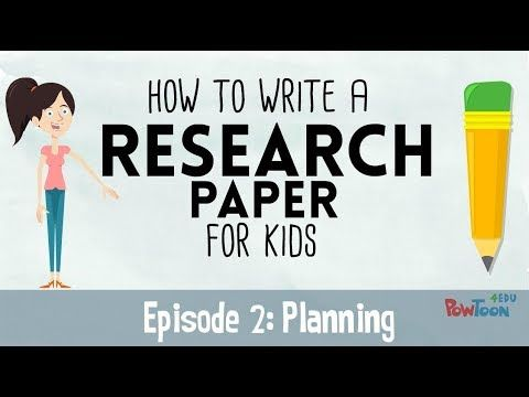 how to write a research paper youtube