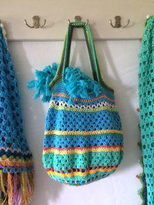 Einkaufskorb häkeln  tasche haekeln (5) | Taschen häkeln, crochet bags | Pinterest | Blog