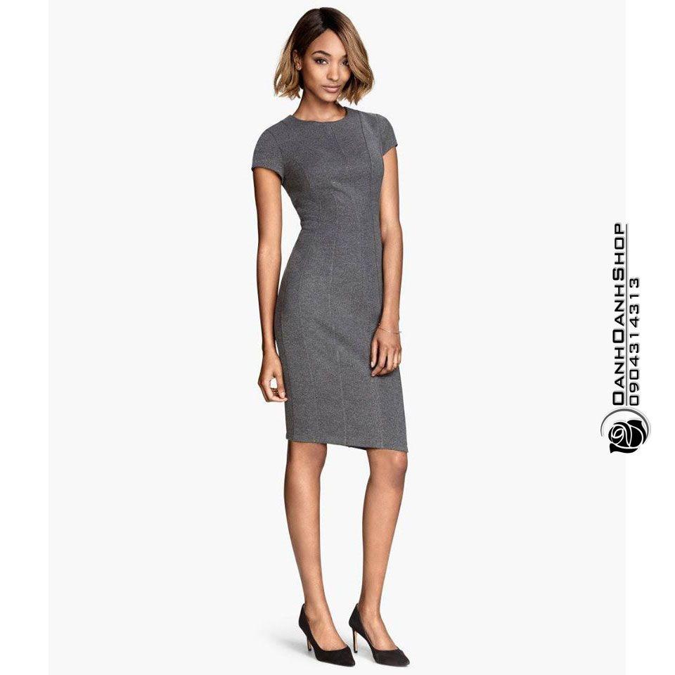 Quần áo nữ thời trang : Váy liền hiệu H&M (vnu10)