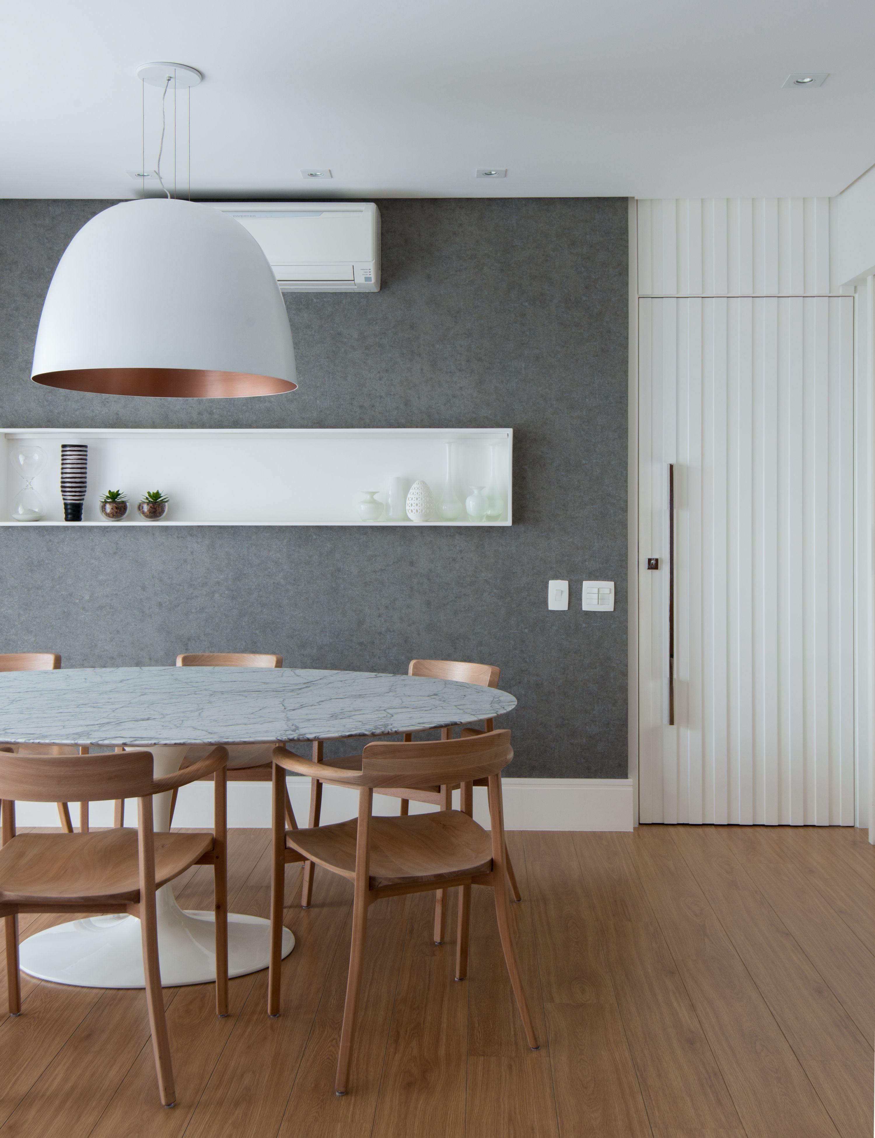 Projeto anna parisi arquitetura design sala de jantar for Ambientes minimalistas interiores
