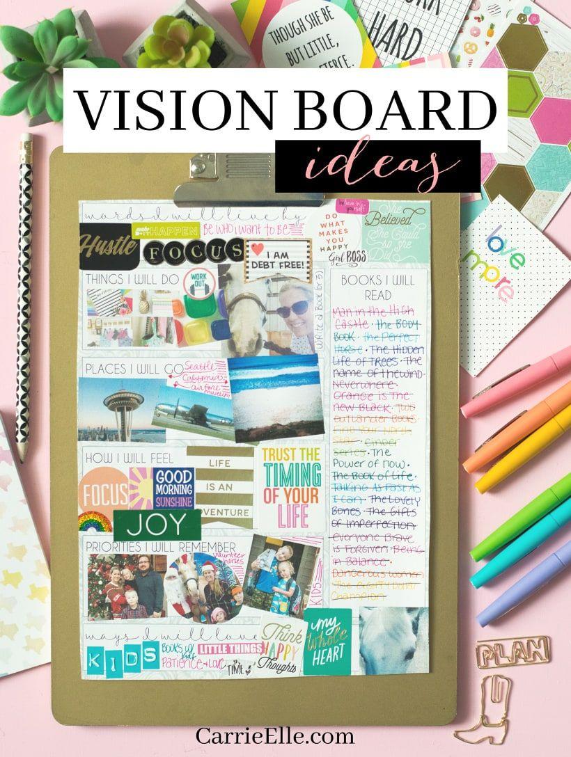 Smartphone Vision Board Theme Vision Board Diy Creating A Vision Board Vision Board Examples