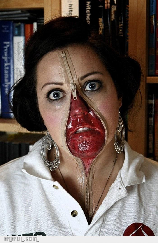 Halloween Unzipped! Awesome Pinterest - scary halloween ideas