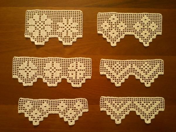Crochet patterns iva rose google search crochet Bordure all uncinetto per tovaglie