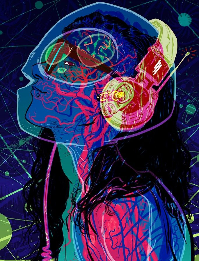 Skrillex By Nathan Fox
