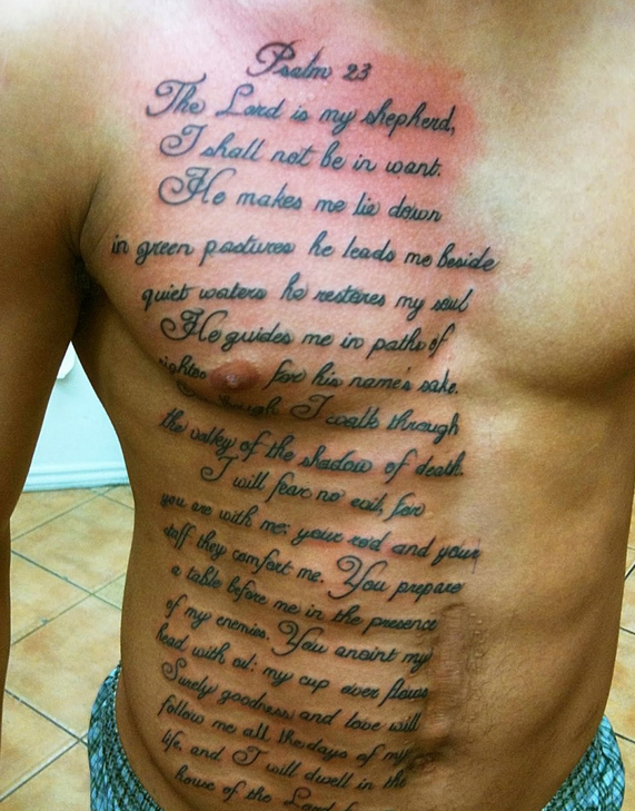 45 Inspirational Bible Verse Tattoos Bible Verse Tattoos Bible Quote Tattoos Bible Tattoos