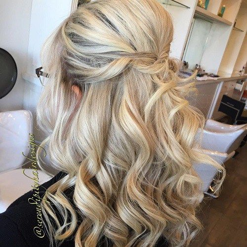 20 Lovely Wedding Guest Hairstyles Mother Of The Bride Hair