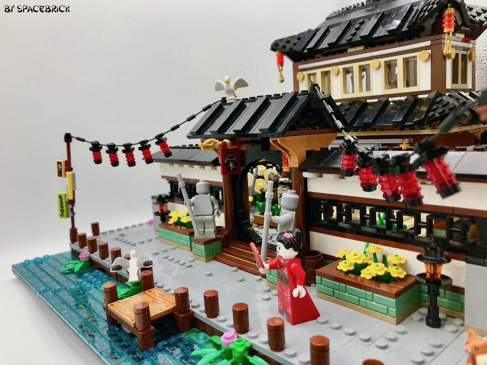 Traditional Japanese Harbour The Dojo Lego Ninjago City Lego Architecture Lego Movie Sets