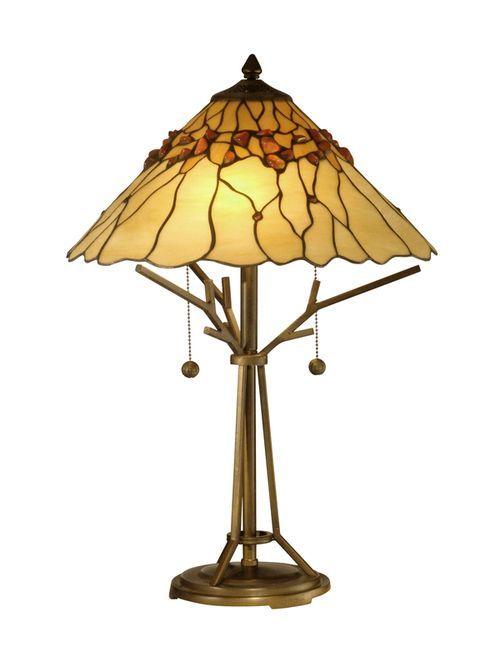 BRANCH BASE TIFFANY TABLE LAMP - TT10598