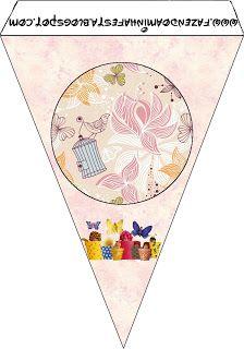 Imprimibles gratis de Bebés de Anne Geddes Primavera.