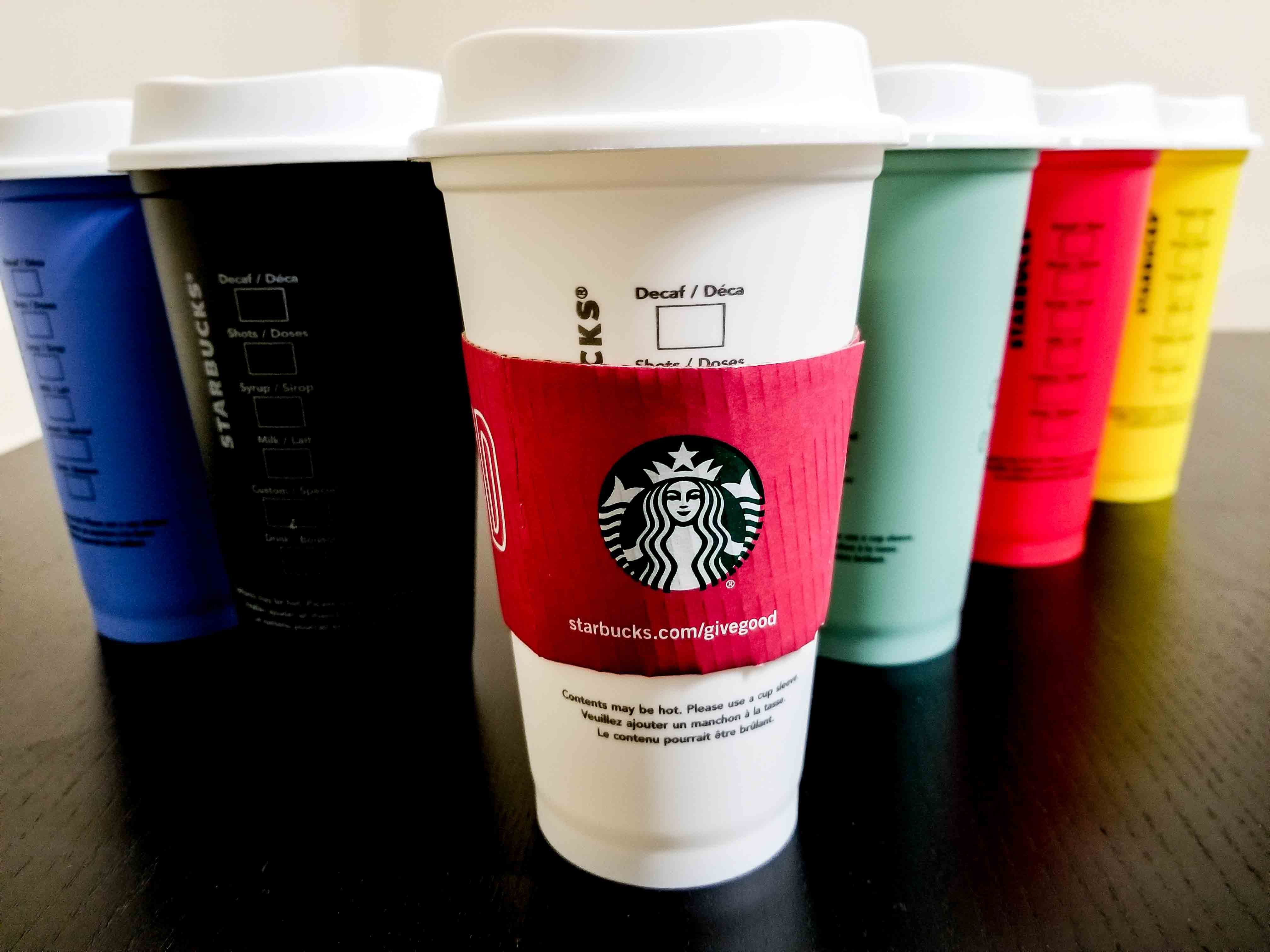 Starbucks Reusable Hot Cups Review Simple Dishwasher Safe And Awesome Starbucks Cup Starbucks Hot