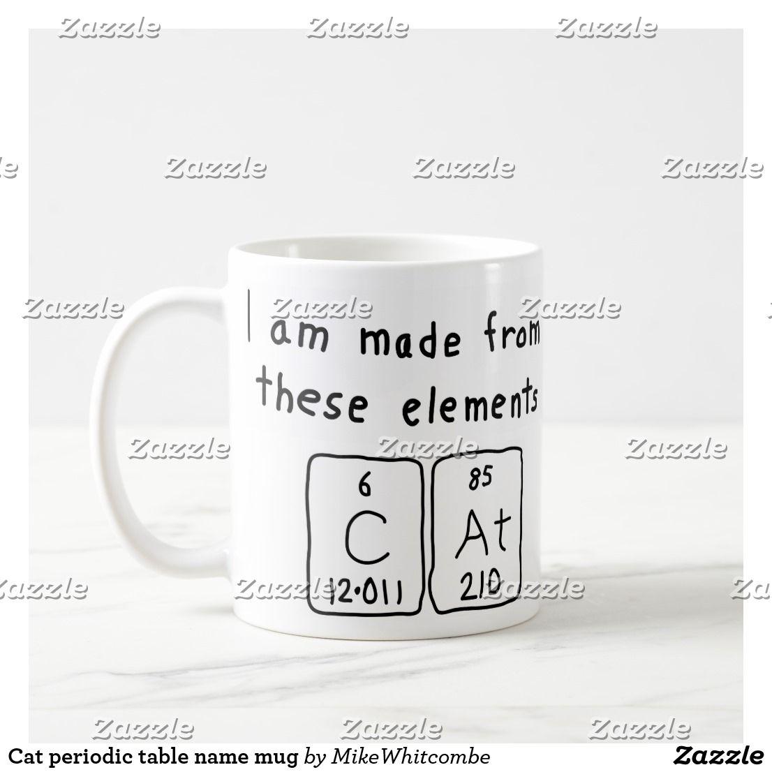 Cat periodic table name mug periodic table cat periodic table name mug urtaz Image collections