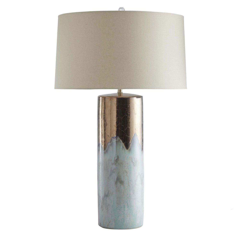 Metallic Bronze Table Lamp