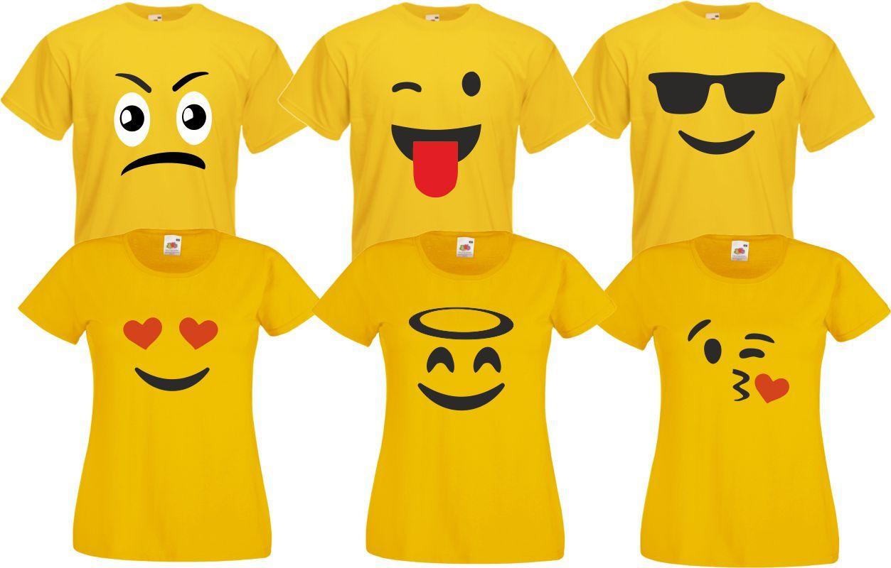 Gruppenkostum Familienkostum Paarkostum Fur Emoji Fans Karneval