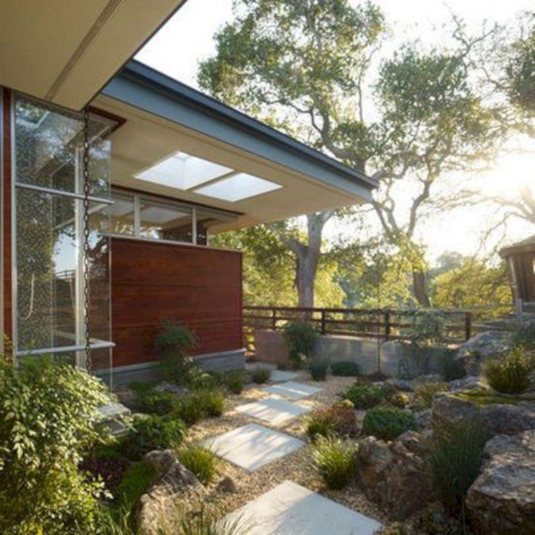 Top 20+ Most Beautiful Mid Century Modern Backyard Design