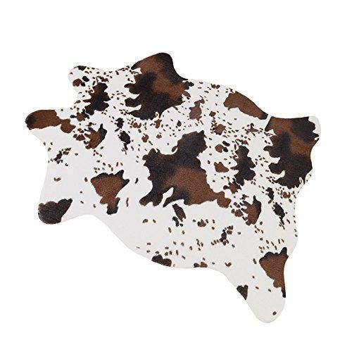 Musthome Cute Cow Print Rug 29 5 Wx43 3 L Fun Nice For