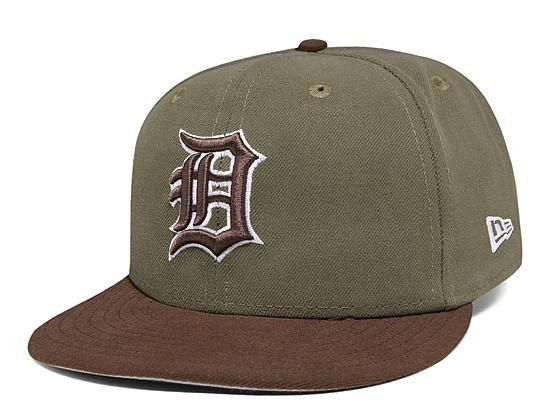 2a78d5c2cf70a Custom NEW ERA x MLB「Detroit Tigers」59Fifty Fitted Baseball Cap ...