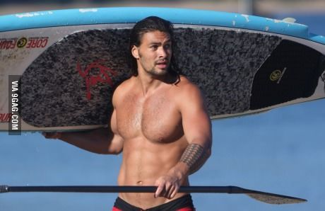 Jason Momoa Khal Drogo Without Any Dothraki Makeup On Jason