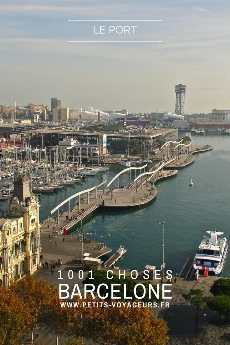 BALADE - Depuis les jardins du Baluard de Drassanes, une balade à pied s'impose le long des quais du port et de la marina. Direction la Barceloneta pour découvrir Barcelone côté mer !