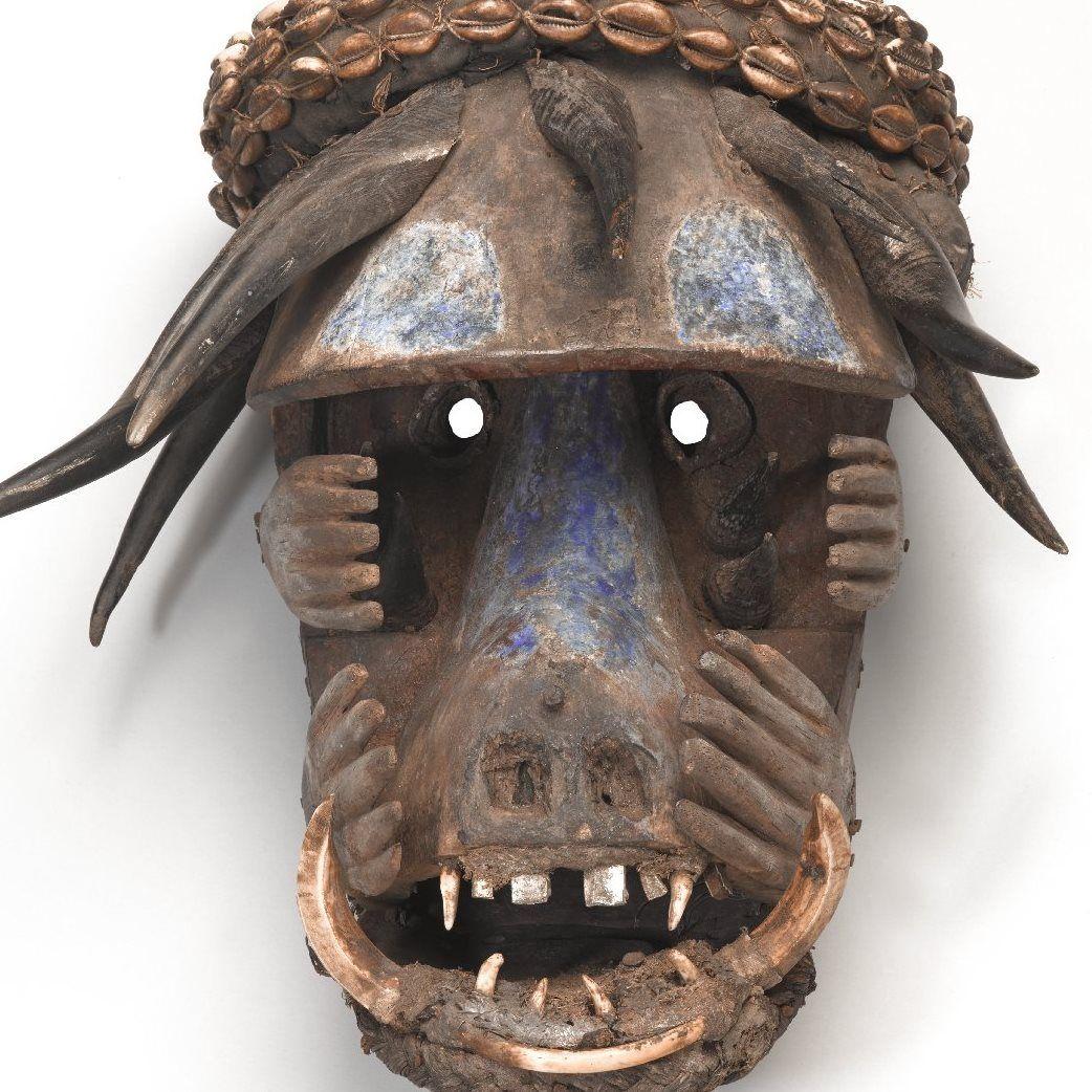 animal human african masks - Google Search