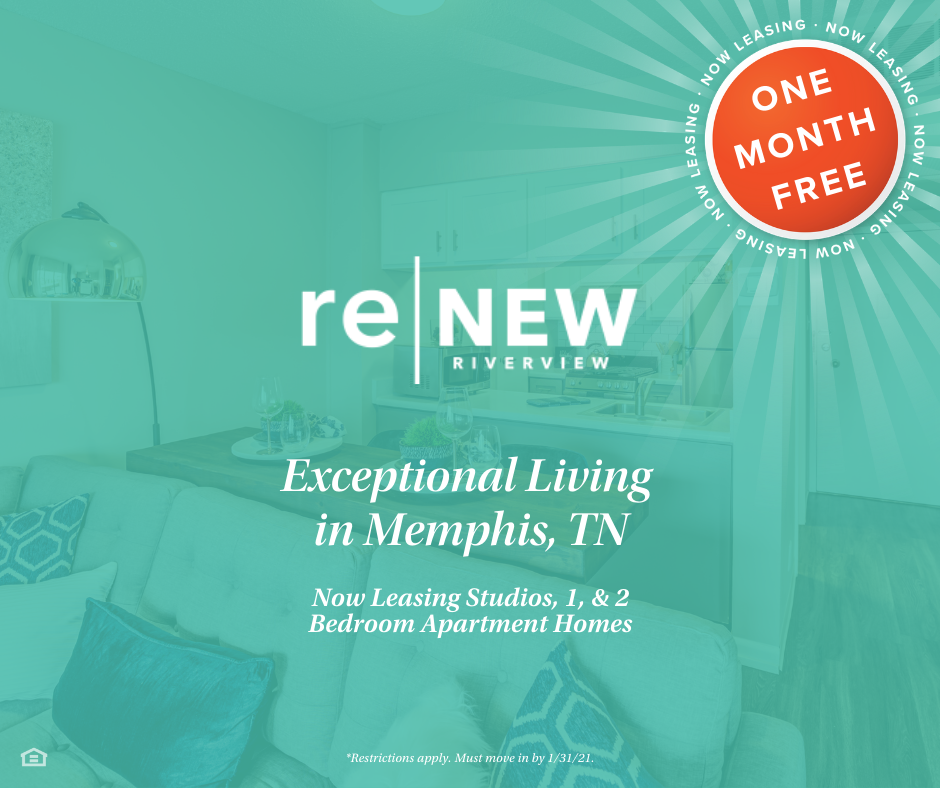 It S A New Year Which Means Time For A New Apartment Home Lucky For You We Re Now Leasing Studios One Two Bedroom A In 2021 Renew Riverview Two Bedroom Apartments