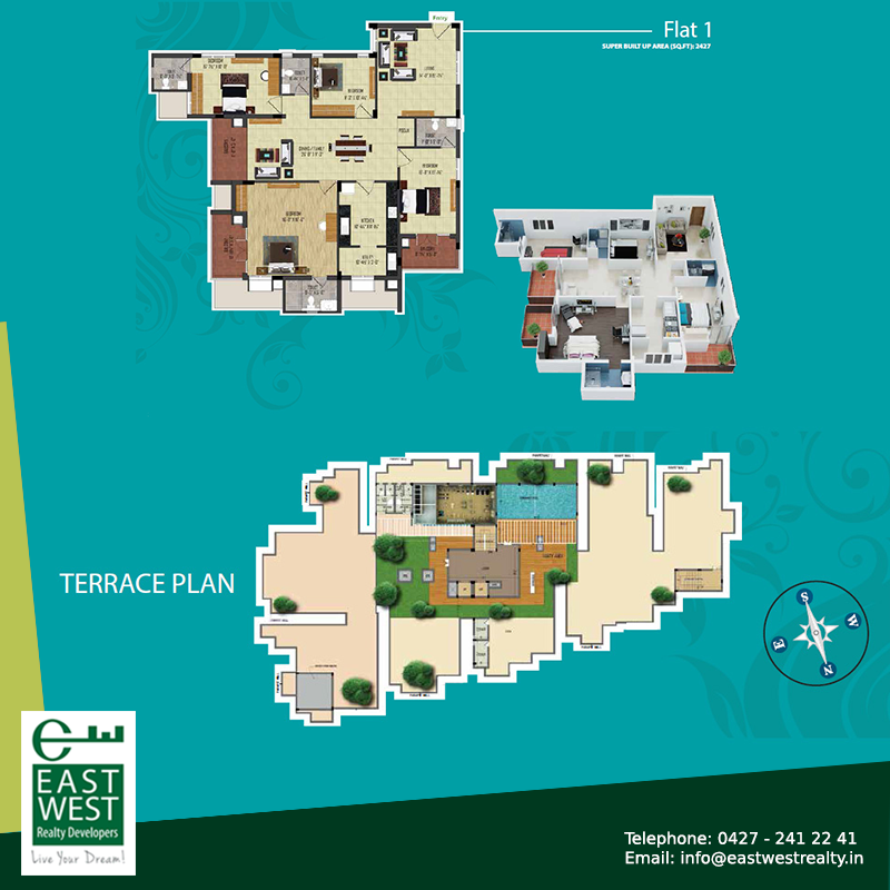 Amazing Get To Know About Our Various Floor Plans For The Terrace, Stilt And Every  Flats