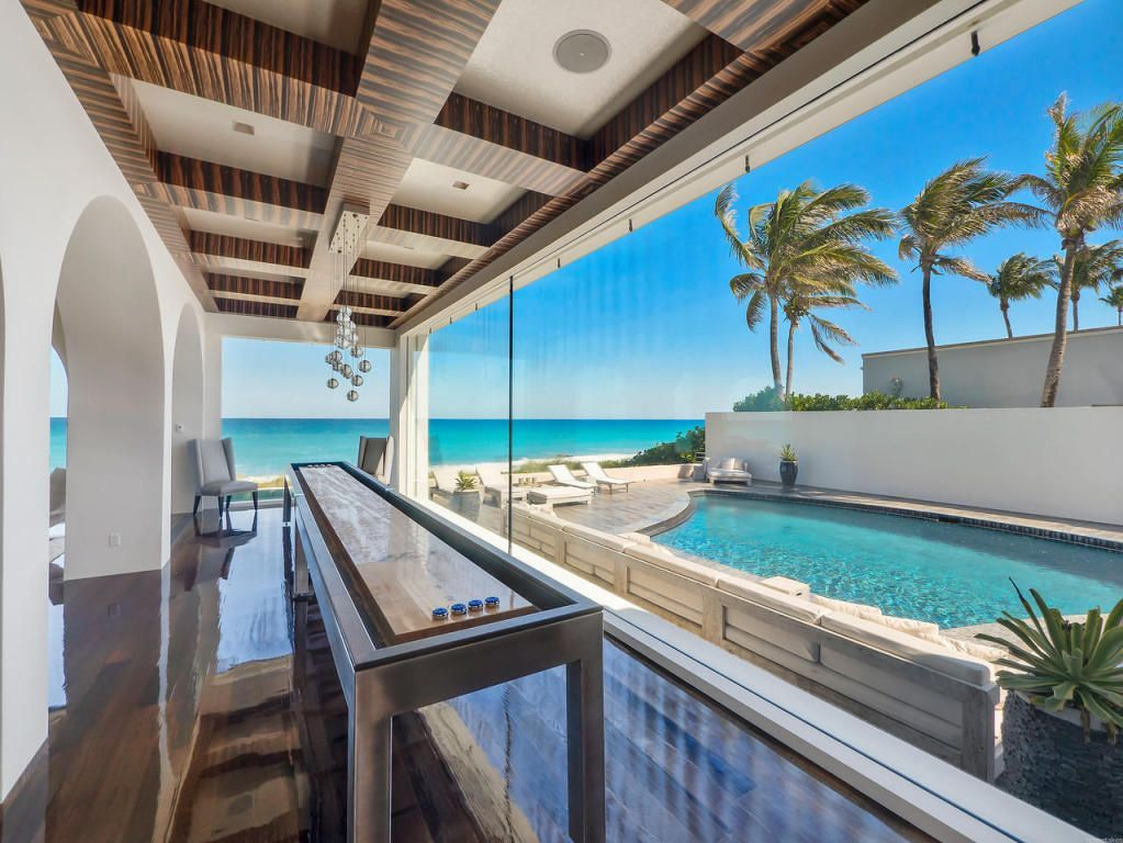View 32 photos of this $27,500,000, 4 bed, 8.0 bath, 7243 sqft single family home located at 1045 S Ocean Blvd, Palm Beach, FL 33480 built in 1970. MLS # RX-10227159.
