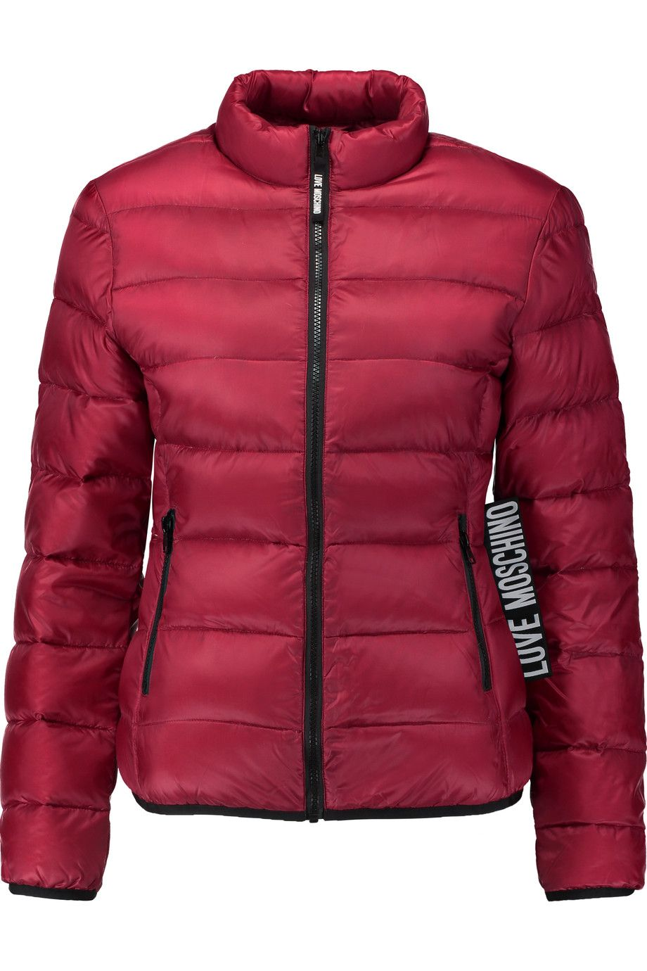 9b62ff14330f8 LOVE MOSCHINO Quilted shell jacket. #lovemoschino #cloth #jacket ...