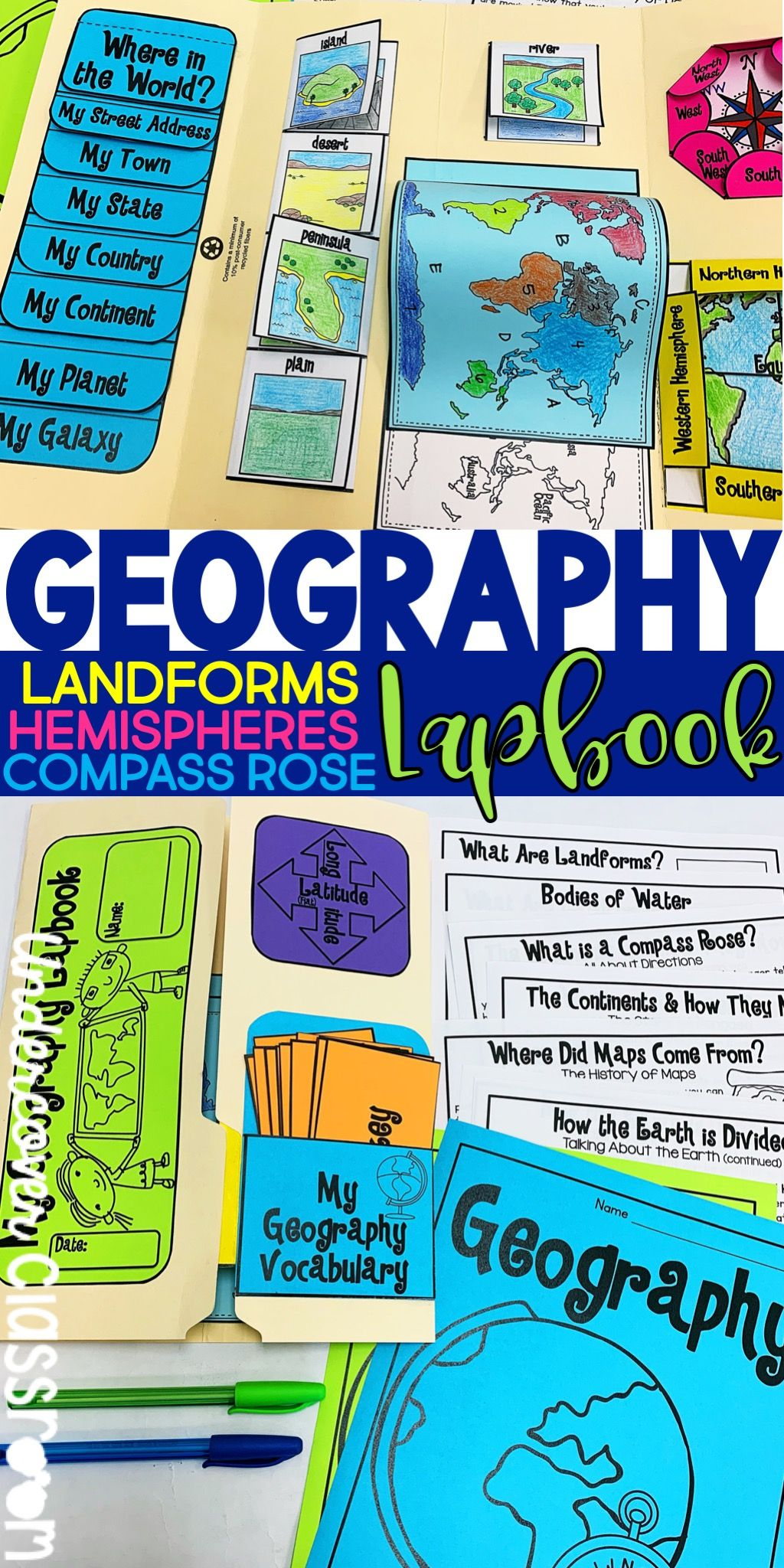 Geography Lapbook Amp Passages