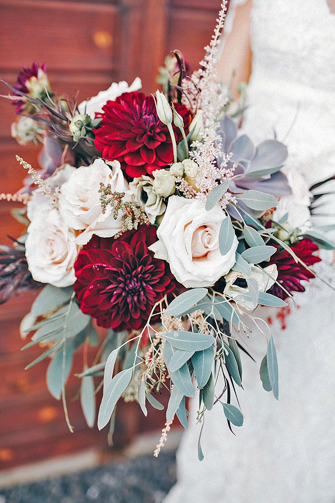 Wedding Bouquets Beautiful Unique Natural With White Roses And
