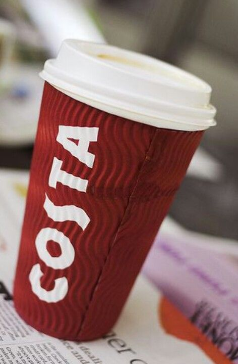 Costa Skinny Latte In A Takeaway Cup Costa Coffee Coffee
